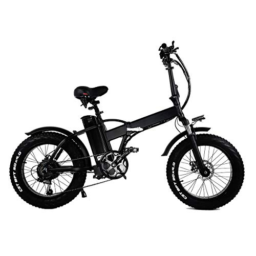 martes Bici Elettrica Fat Tire 20 * 4'con 48V 15Ah Batteria agli Ioni di Litio 500W Motor, City Mountain Bike Booster 100-120km