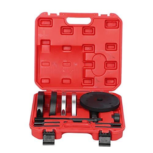 Kit de extracción de la rueda delantera, Qiilu 78mm/3.07in Herramienta de ensamblaje del extractor del cubo del cojinete de la rueda delantera Se adapta a Fo-rd Fo-cus II