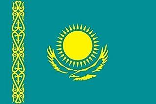 U24 Aufkleber Kasachstan Flagge Fahne 15 x 10 cm Autoaufkleber Sticker