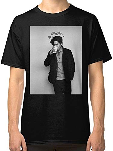 Cole Sprouse Riverdale Summer Fashion Crew Neck Tees Cotton Short Sleeve Tops