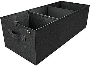 MIU COLOR Car Trunk Organizer for SUV, Expandable Large Capacity, Sturdy Cargo Trunk Storage Organizer, Non Slip Bottom