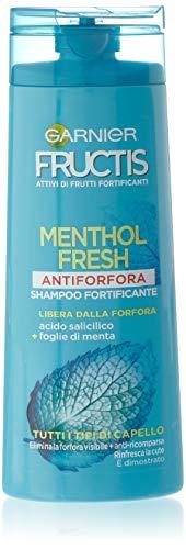 Garnier Fructis Menthol Fresh Anti-Schuppen-Shampoo für alle Haartypen, 250ml