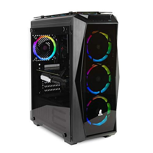 NITROPC - PC Gamer Extremo *Rebajas FEBRERO* (actualizado 2020) (Intel i7: 8/8 x 4,70 GHz (Turbo), Nvidia RTX 2070 8GB, SSD480, 2TB, Ram 32GB + Windows 10) Ordenador Gaming, pc Gaming, pc Gamer