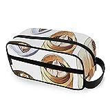 Utensilios de Cocina creativos Vaporizador de Alimentos para el hogar Bolsa de baño de Viaje con Cremalleras Organizador de artículos de tocador Accesorios de Viaje de Mano Bolsas de ba