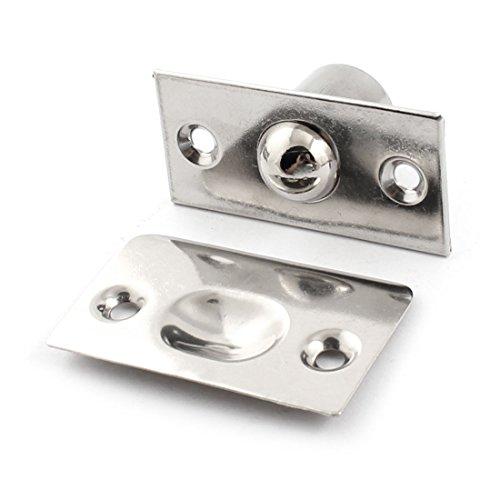 Porta per dell'armadio finiture silver-tone gioco chiusura sfere in acciaio inox