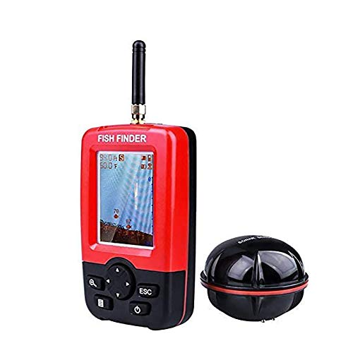 STARTOGOO Fishing Finder, Portable Wireless Sonar Sensor Fish Attractor and Fish...