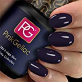 Pink Gellac Shellac Gel Nagellack 15 ml für UV LED Lampe | 263 Indigo Blue Blau | Gel Nail Polish for UV Nail Lamp | LED Nagel Lack Gellack Nagelgel