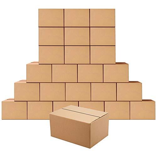 Scatole di spedizione 203x153x102MM,25 Pezzi Scatole cartone per trasloco