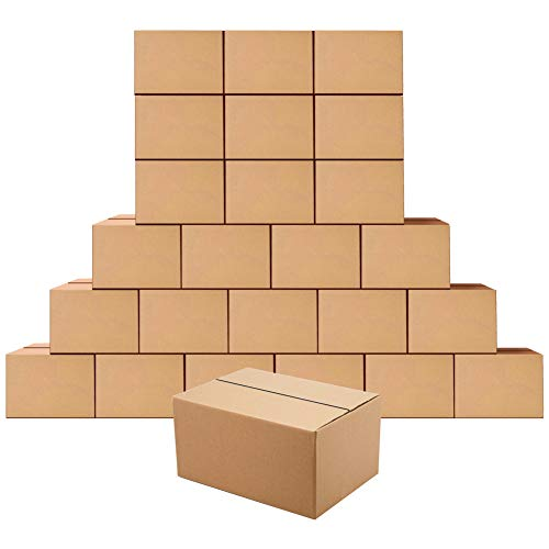 Cardboard Boxes 8 x 6 x 4 inches Small Shipping Boxes, 25 Pack