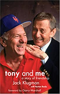 Tony and Me: A Story of Friendship, with DVD of