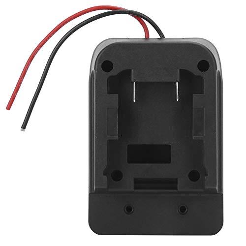 Adaptador de Cargador de batería, Salida de línea bidireccional Rendimiento Estable Base de conversión de batería Liviana Práctica para la Escuela y la Oficina