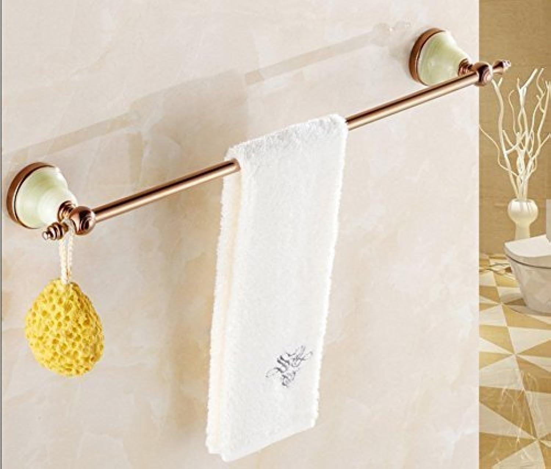 Door-Door Towels-European Full of Baths of Copper, Bar-Towels Door Door-Bath Pink gold, Single Pole