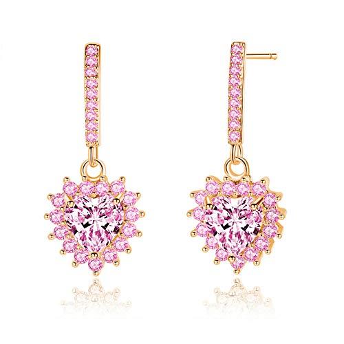 Empty oorbellen voor dames in de vorm van een schattig hartje, cadeau voor bruiloft, sieraden van mode
