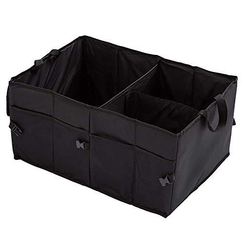 Halsey99 Stockage Stockage, Multifonction Pliable Voiture Boîte de Rangement Grand Durable étanche de Stockage de démarrage Organizer Box pour Voitures/camions/VUS