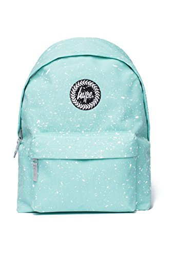 Hype Backpack Bags Rucksack | School Bag | Mint Green with White Speckle
