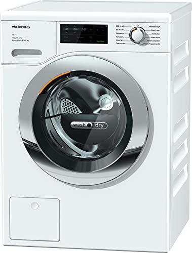 Miele WTI 360 WPM Frontlader Waschtrockner / 8 kg Waschen / 5 kg Trocknen/Schontrommel/Kapseldosierung - CapDosing/QuickPower/SingleWash/Vernetzung / 1600 U/min[Energieklasse D]