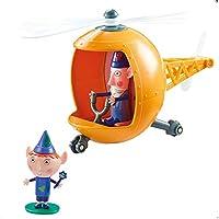 Character Options Helicóptero de Servicio de Rescate de Elfos de Little Kingdom de Ben & Holly con Figuras