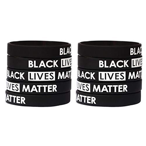 Fantastic Deal! Black Lives Matter Wristband Bracelets Silicone Bracelet