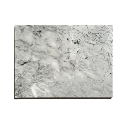 "Kota Japan Premium Non-Stick Natural Marble Pastry Board Slab 15 3/4' X 11 3/4"" with No-Slip..."