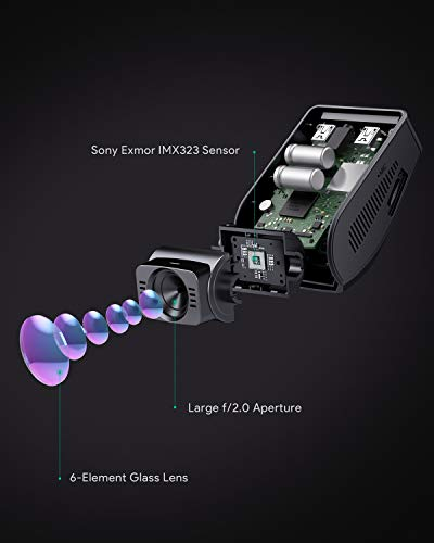AUKEY Dashcam 1080P Kompakte Autokamera - 3