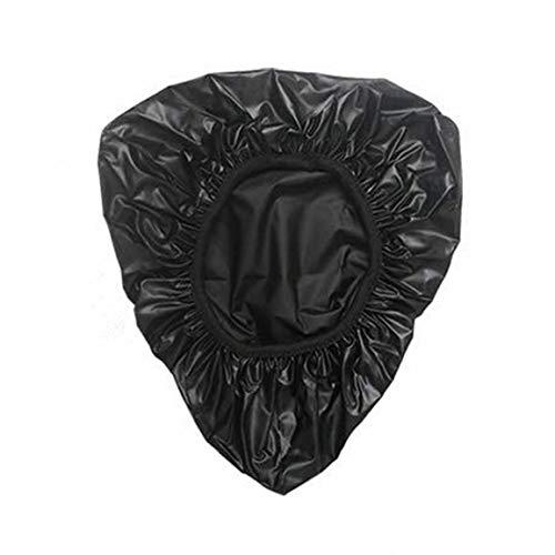 AstriuK Funda impermeable para sillín de bicicleta de PVC, color negro