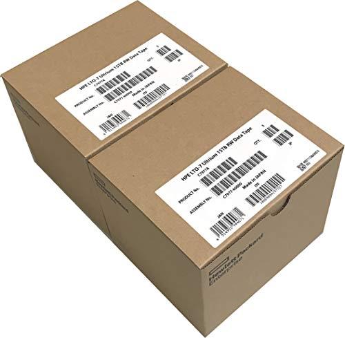 10-Pack HPE LTO 7 Ultrium C7977A...