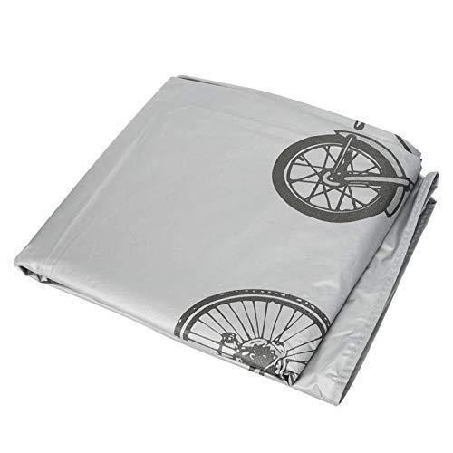 DAUERHAFT Tejido de poliéster al Aire Libre Durable del Protector de la Caja de la Rueda de la Bici del Protector de la Bici, para Montar(Wheel Cover)