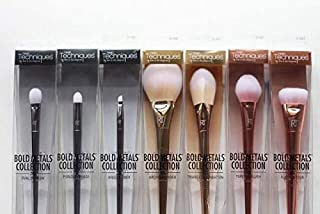 Real Techniques bold metals collection brushes