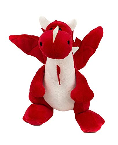 "Grandma Smiley's Plush Best Friends, 10"" Red Dragon"