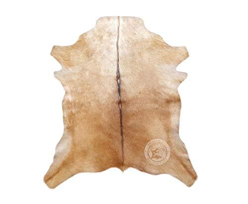 Sunshine Cowhides Alfombra de Piel de Cabra Exotic - 85 cm x 70 cm - Pieles del Sol