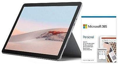 "Microsoft Surface Go 2 10.5"" Intel Core m3 8GB RAM 128GB SSD Platinum + Microsoft 365 Personal 1 Year Subscription for 1 User"