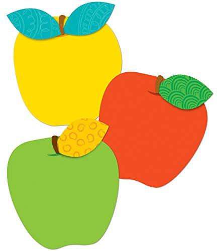 Carson Dellosa – Apples Colorful Cut-Outs, Fall Classroom Décor, 36 Pieces, Assorted Designs (120116)
