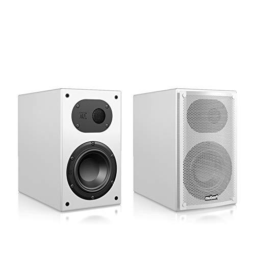 Nubert nuLine 24 Dipollautsprecherpaar | Lautsprecher für Heimkino & HiFi | Musikgenuss auf hohem Niveau | Passive Surroundboxen mit 2 Wegen Made in Germany | Kompaktlautsprecher Weiß | 2 Stück