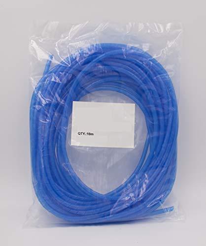 Spiralschlauch Blau Spiralband Kabelschlauch 10 Meter Kabelhülle für Kabelbündeldurchmesser von 5 – 25 mm ideal zum bündeln von Kabeln bei PC, TV, HIFI Anlage. Hochwertiger Kabelschlauch