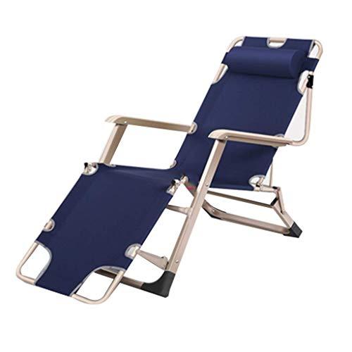 Household Necessities/klapstoel, pauze, lunch, zitting, binnen, senioren, vrije tijd, tuinstoel, multifunctionele stoel, lounge-chair capaciteit: 178*47*35CM Zwart