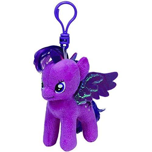 Amazon.com  Ty Beanie Baby – My Little Pony – Twilight Sparkle Keychain  ty41104  Toys   Games e4ccbb5bd0ec