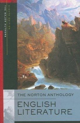 The Norton Anthology of English Literature, Major Authors Edtion