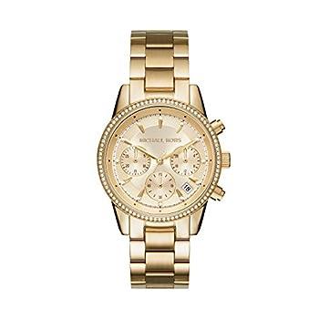 Michael Kors Women s Ritz Gold-Tone Watch MK6356