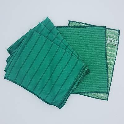 petit un compact Lot de 5 microfibres Bambou vert (2 et 3) Bambou brillant