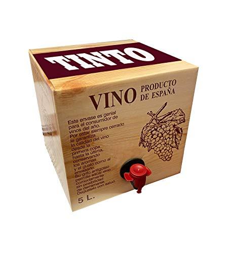 Bag in Box 5L Vino Tinto Joven Bodega Los Corzos