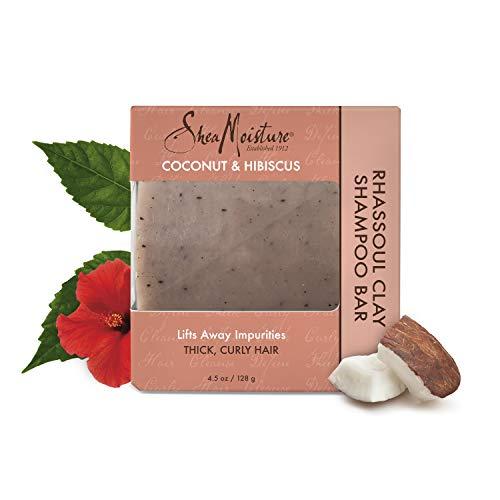 Shea Moisture Coconut & Hibiscus Clay Shampoo Bar, 4.5 Ounce