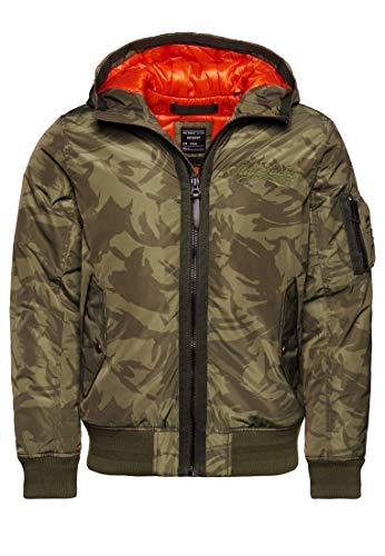 Superdry A1-Casual Jacket Chaqueta, Camuflaje, S para Hombre