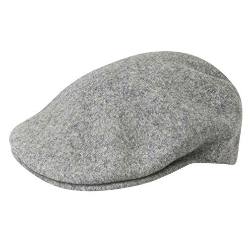 Kangol Wool 504 - Gorra unisex, talla XL, color Gris (Flannel)