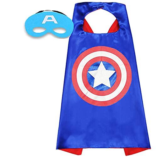 Superhero Capes for Kids Superhero Bracelets 4-10 Year Kids Superhero Toys Gifts