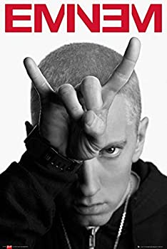Eminem Horns Poster - 91.5 x 61cms  36 x 24 Inches