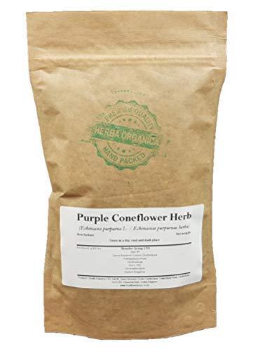 Herba Organica - Purpur Sonnenhut Kraut - Echinacea Purpurea L - Purple Coneflower Herb - Roter Scheinsonnenhut, Purpur-Sonnenhut (100g)