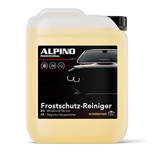 Alpino Scheibenfrostschutz KONZENTRAT bis -70°C (10L)   Ergibt bis zu 30L   Schlierenfrei & Langzeit-Frotstschutz   Frostschutzmittel Scheibenwaschanlage, Scheibenreiniger Auto, Fortschutz Auto