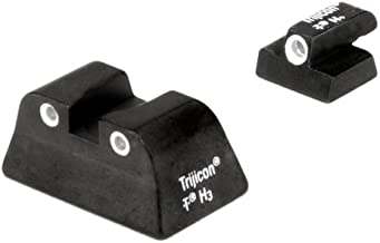 Trijicon S&W Compact Fixed, 3 Dot Front And Rear Night Sight Set, 9 mm
