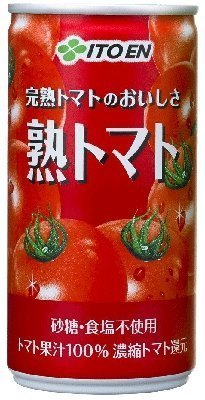 伊藤園 完熟トマトのおいしさ 熟トマト 190g缶×20本×3ケース(60本)