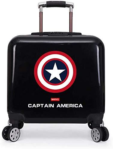 Equipaje de la carretilla de dibujos animados niño Kids Case Maleta del equipaje del...